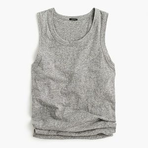 J.CREW | knot-back tank top Sz L